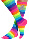Unicorn Rainbow Knee High Socks - Socks - Bubblegum Divas Store