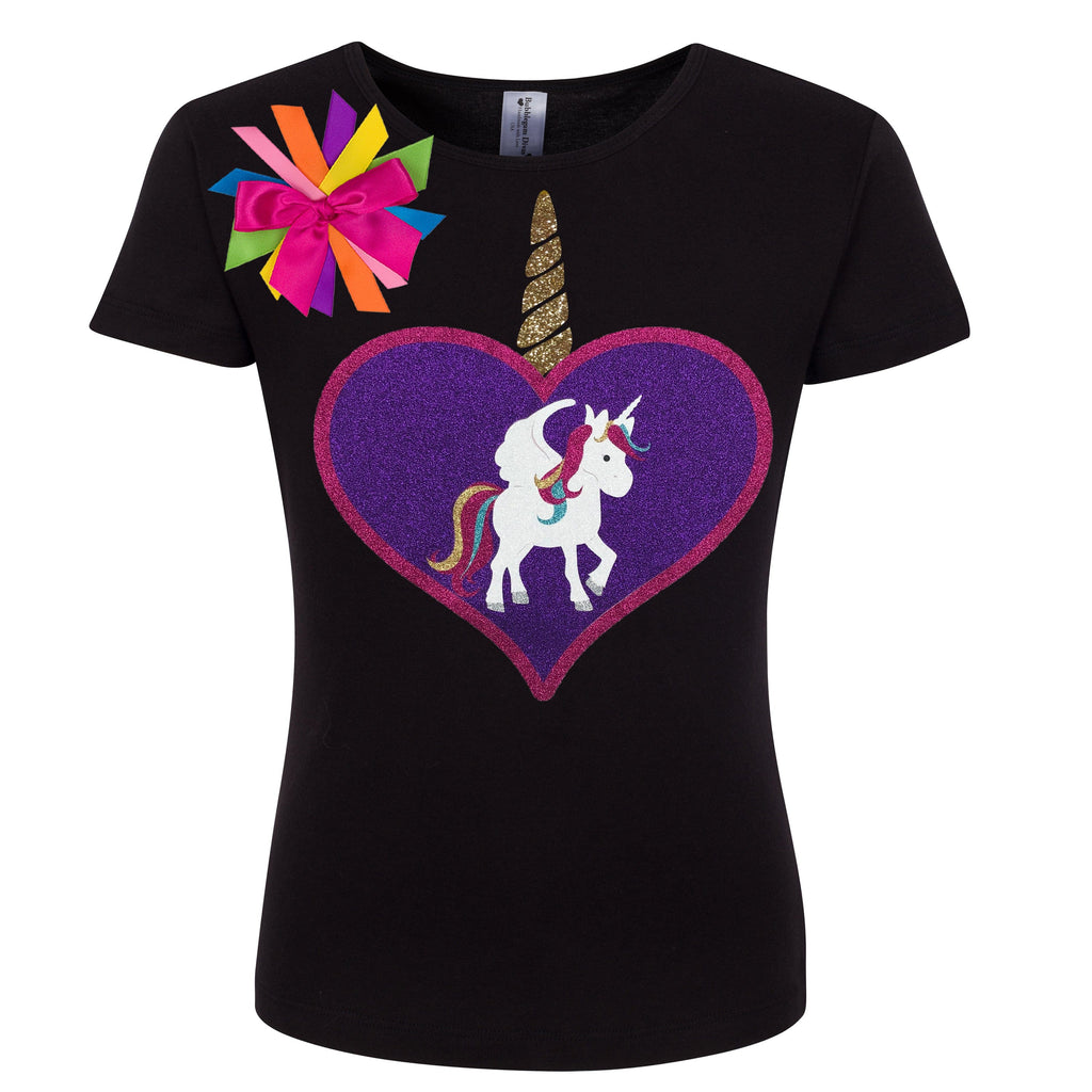 Unicorn Shirt Royal Jewel