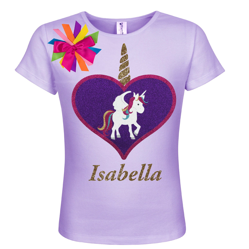 Unicorn Shirt Lily Pie