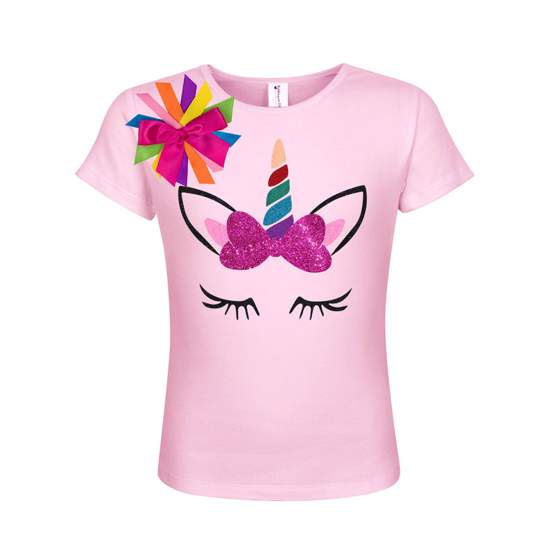 Unicorn Shirt - Rainbow Horn