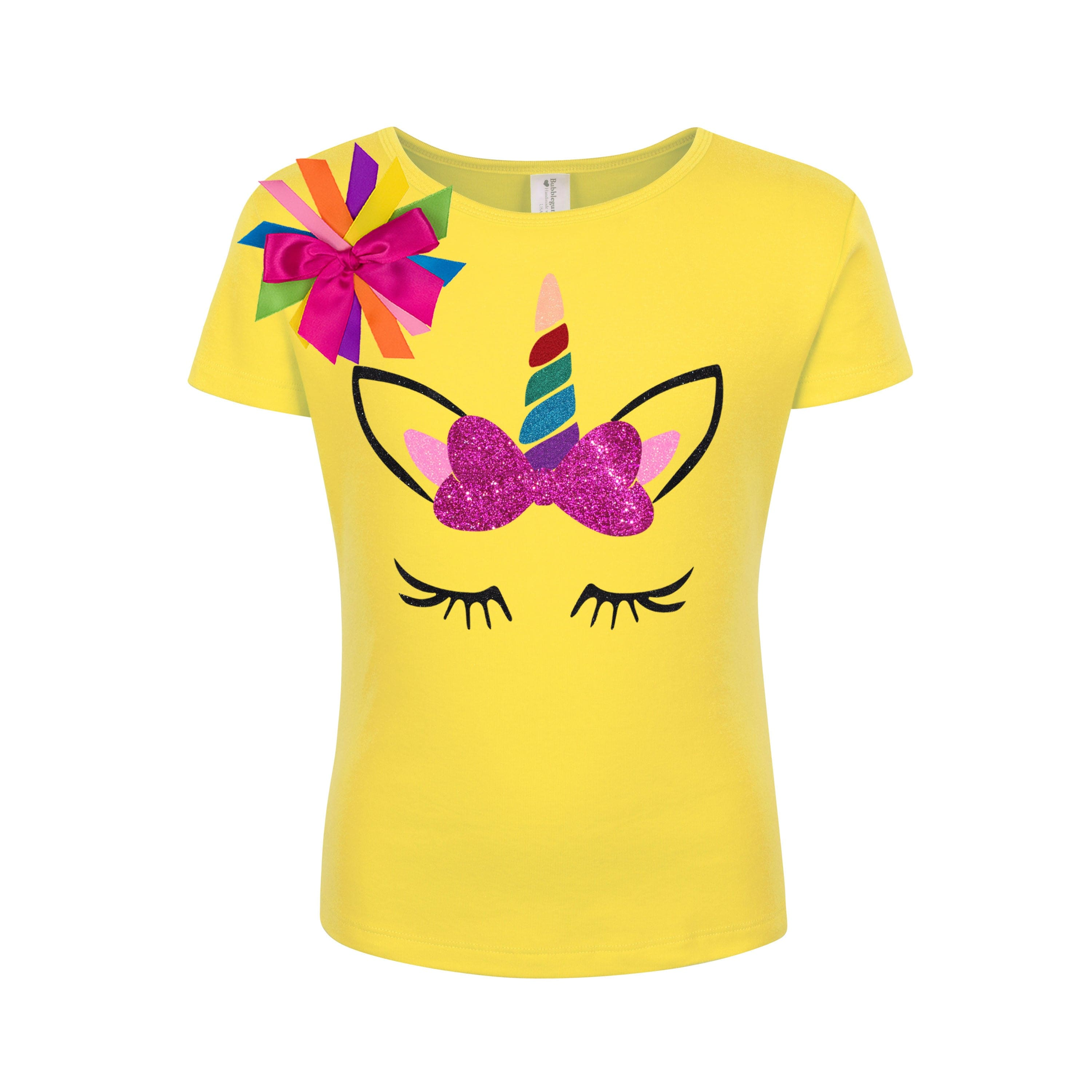 Unicorn Shirt Pony Party Rainbow Outfit - Outfit - Bubblegum Divas Store