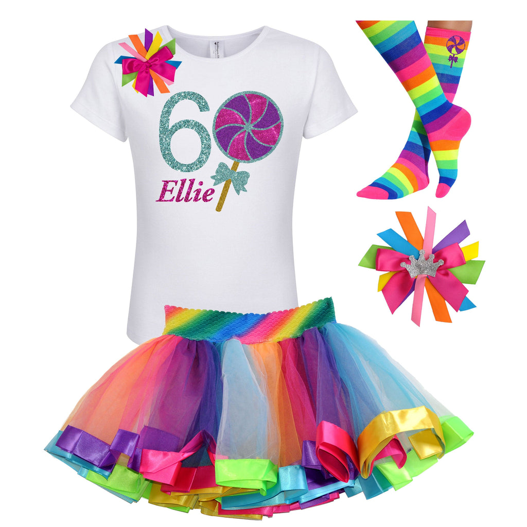 Berry Twist Lollipop 6th Birthday - Lollipop Birthday Outfit Kids Teens Girls - Bubblegum Divas Store