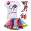 1st Birthday Shirt - Pink Swirl Lollipop