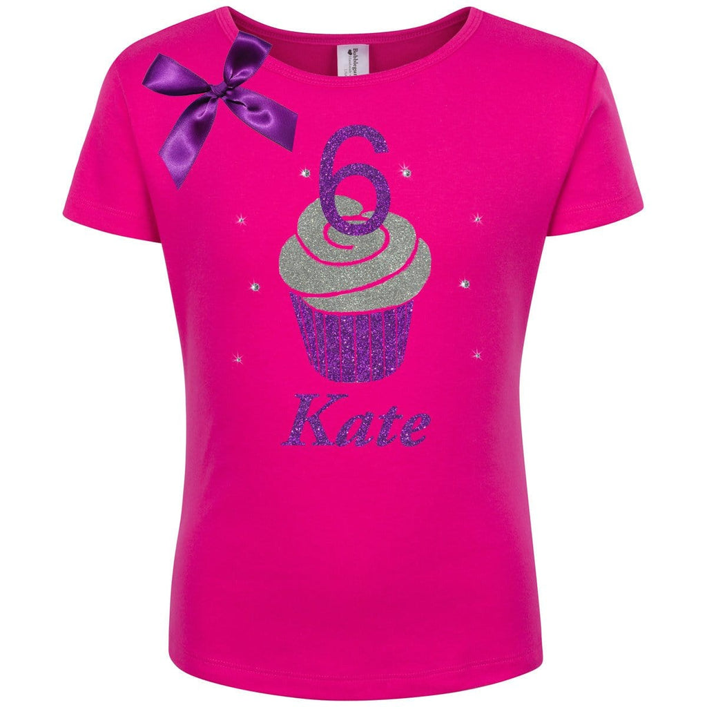 Cupcake 6 Birthday Shirt