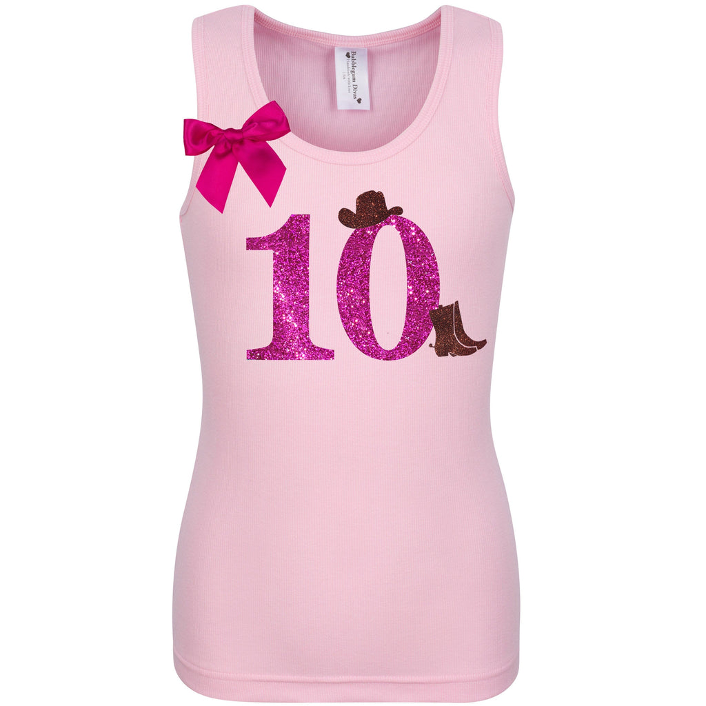 Cowgirl Boots 10 Shirt
