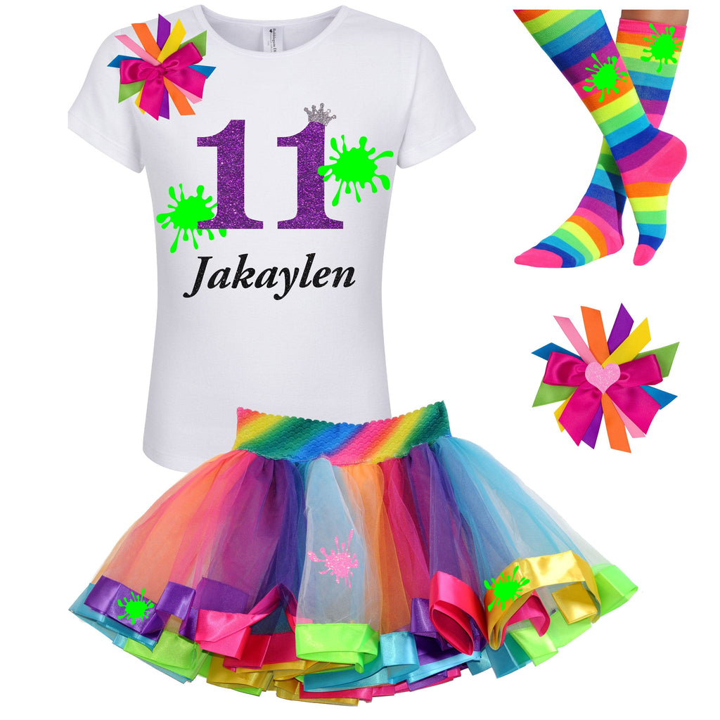Slime Party 11th Birthday Outfit - Outfit - Bubblegum Divas Store