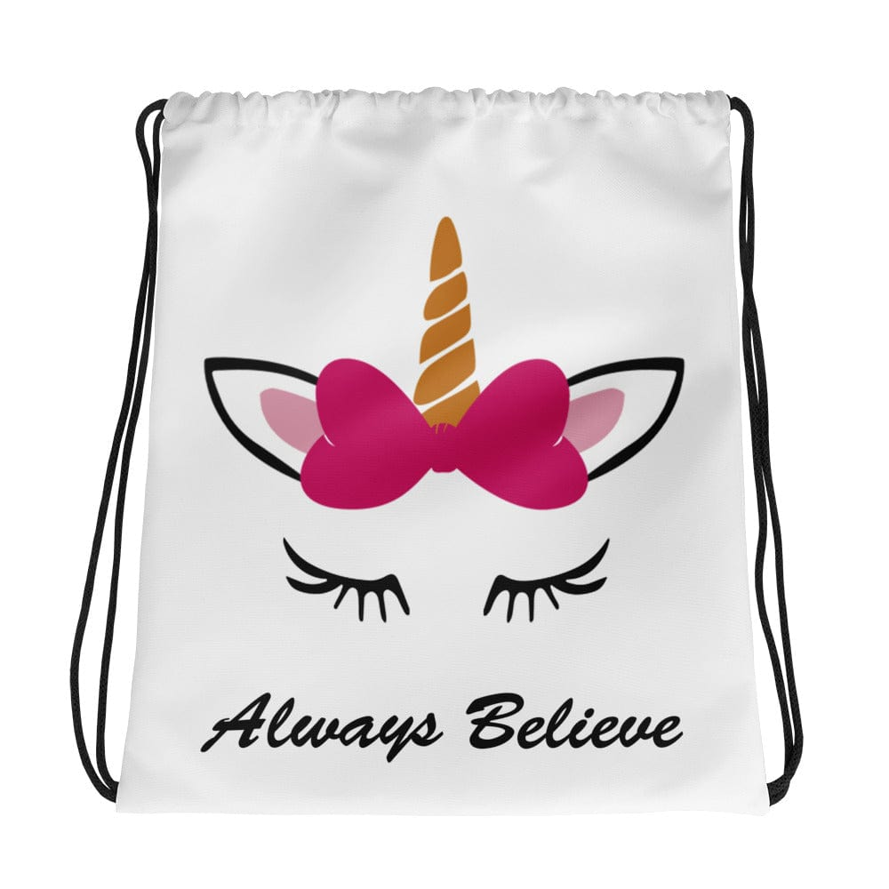 Unicorn Drawstring Bag Personalized