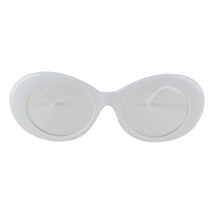 White And Clear Clout Goggles