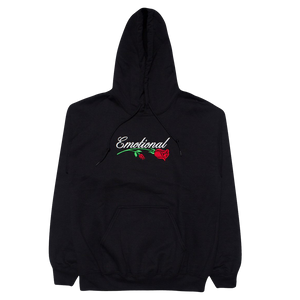 Emotional Rose Black Hoodie