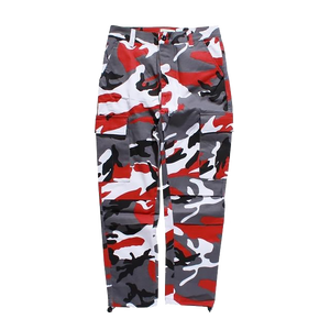 Red Camo Cargo Pants