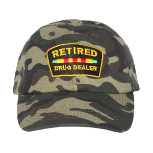 Retired Drug Dealer Camo Dad Hat