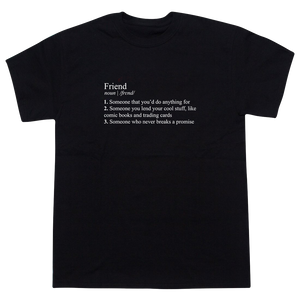 Stranger Things Mike Wheeler's Definition of a friend T-shirt