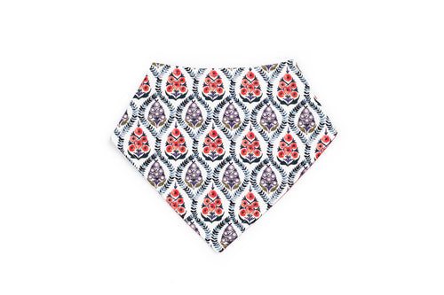 Barbro Ascot Baby Bib in Liberty Print