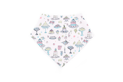 London Ascot Baby Bib in Liberty Print