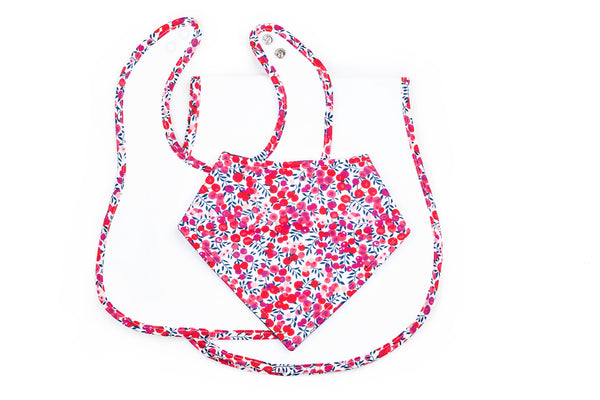 Isabella Three-Piece Gift Set in Floral Liberty Print