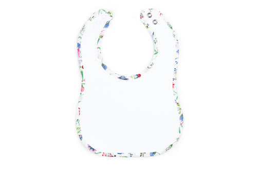 Sloane Classic Baby Bib in Floral Liberty Print