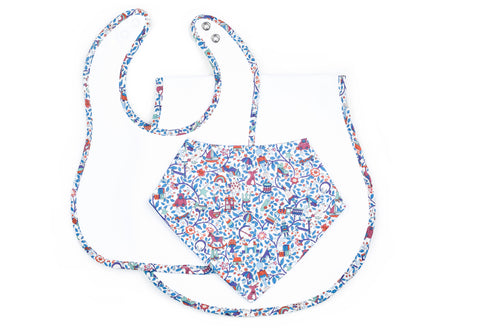 Georgie Three-Piece Gift Set in Liberty Print