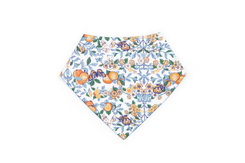 Alastair Ascot Baby Bib in Floral Liberty Print