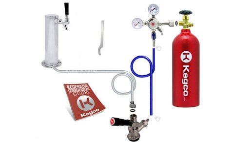 Included with purchase Kegerator co2