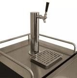 hogshead kegerators EdgeStar Single Tap Built-In Outdoor Kegerator - KC7000SSOD