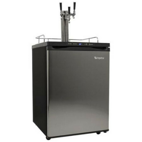 Edgestar Triple Tap Kegerator with Digital Display - KC3000SSTRIP