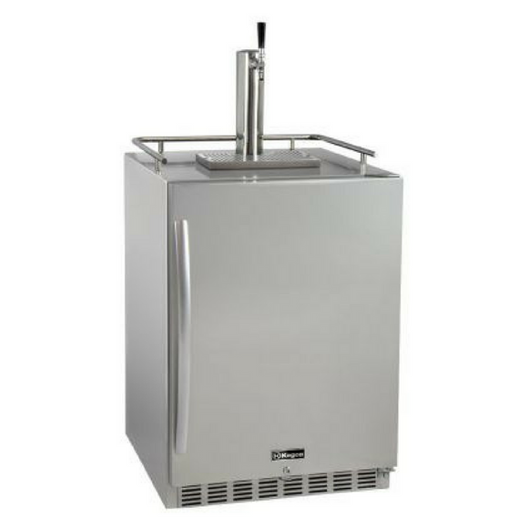 Kegco HK38SSU-1 Single Tap Built-In Outdoor Digital Display Kegerator