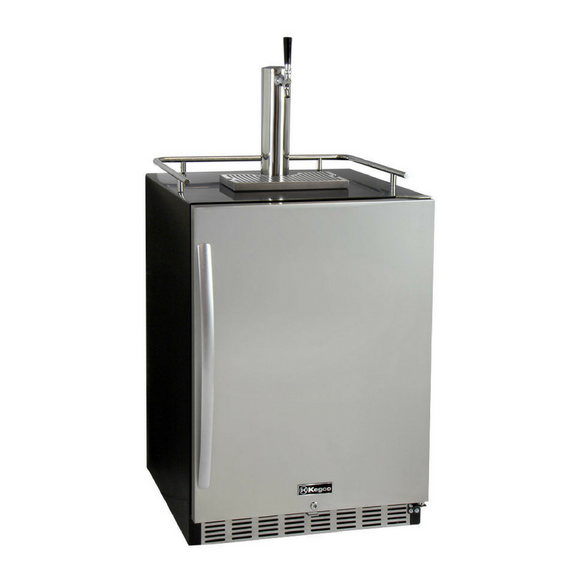 Kegco HK38BSU-1 Single Tap Built-In Digital Display Kegerator