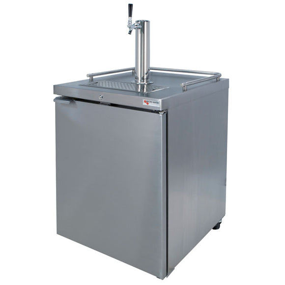 Micromatic Pro-Line E-Series Single Tap Outdoor Kegerator - MDD23S-E