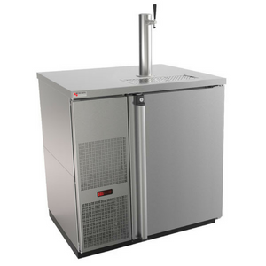 Micromatic Built-In Single Tap Kegerator MDD36S-E Stainless Steel