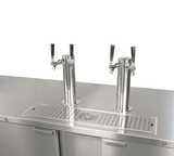 hogshead kegerators Micromatic Four Taps and Four Kegs Kegerator with Glass Rinser - MDD78S