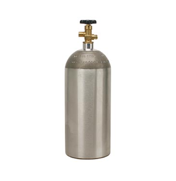 Micro Matic 15 lb CO2 Tank (Empty)