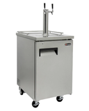 Kegco XCK-1B-2 Double Tap Outdoor Commercial Kegerator