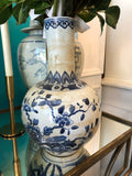 Blue and White Vase - Bird and Flowering Tree