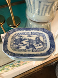 Blue and White Tray - Landscape - Small