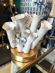 Tube Vase - Medium - White