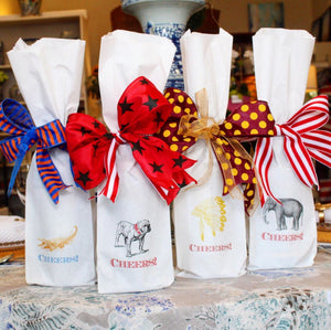 Game Day Gift Wine Bags - Decorative Paper