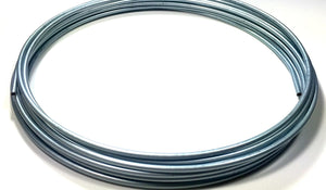 "Roll of 25 ft. Zinc Plated 1/4"" Brake or Fuel Line Tubing Coil"