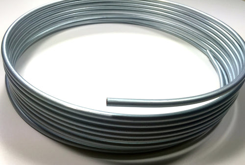 25 Foot Roll / Coil of Steel Fuel Line Tubing