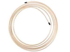 "15 Ft Roll of 3/16"" (.028"" Wall) Copper/Cupronickel Brake Line Tubing"