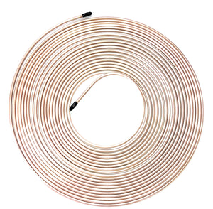 "50 Ft. Roll of 3/16"" Copper Nickel Brake Line Tubing"