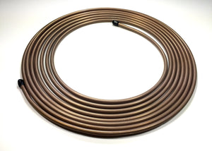 "5/16"" (.312"") Copper Nickel Roll of Tube - 25 ft."