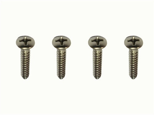 1970 - 1972 Camaro Console Shift Plate Screws Set, Mounting, Automatic or 4-Speed, 4 Pieces
