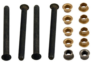 1970 - 1981 Door Hinge Pins and Bushings Set, Complete, 4 Pins and 8 Bushings