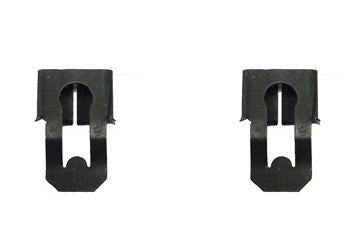 Door Lock Rod Clips, Pair