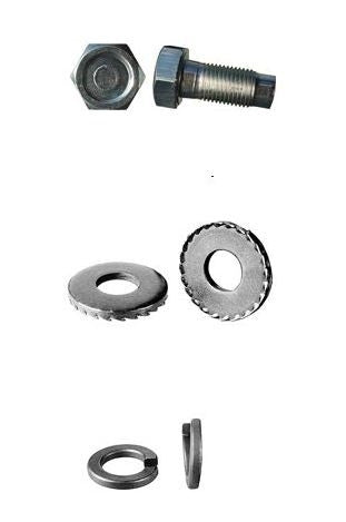 1967 - 1969 Firebird Engine Motor Mount Bolt Set, KIT
