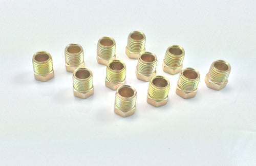 Inverted Flare Tube Nut for 3/8