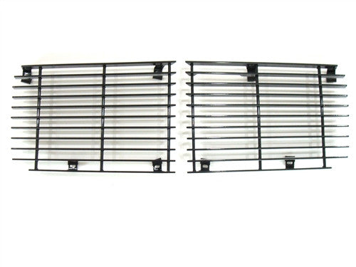 1970 - 1973 Camaro Rally Sport Billet Aluminum Grille Set, All Black