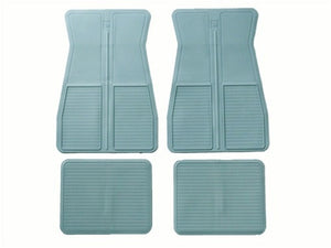 1973-1981 O.E. Style Floor Mats Light Blue  4 Piece Set