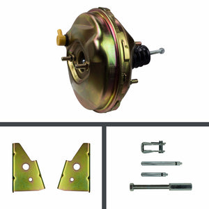 9 Inch Brake Booster - Gold Cadmium