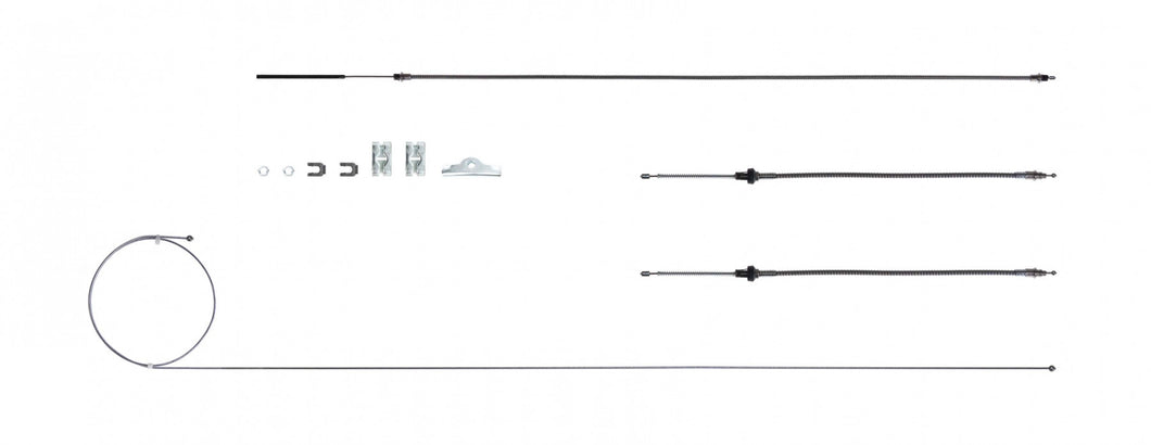 '63 - '65  B Body - Dodge, E-Brake Cable Set, Stainless